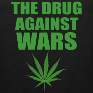 The Drug Against Wars Bandana - Men's Premium Tank