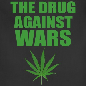 Men The Drug Against Wars Tee - Adjustable Apron