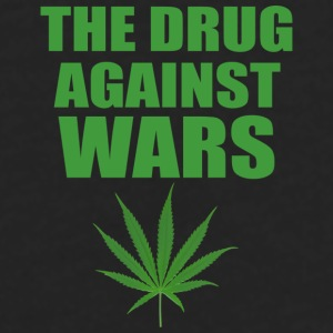 The Drug Against Wars Mug - Men's Premium Long Sleeve T-Shirt