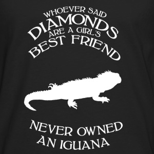 iguana female Women's T-Shirts - Men's Premium Long Sleeve T-Shirt