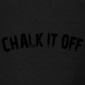 Chalk It Off - Arc Text - Men's T-Shirt