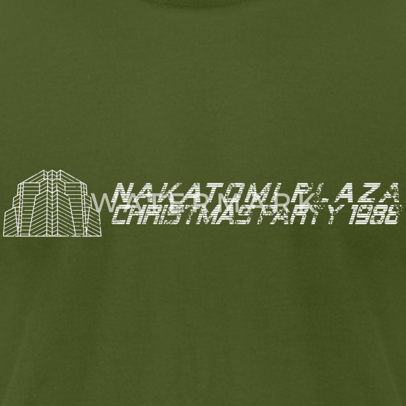 Nakatomi Plaza Christmas Party 1988 - Men's T-Shirt by American Apparel