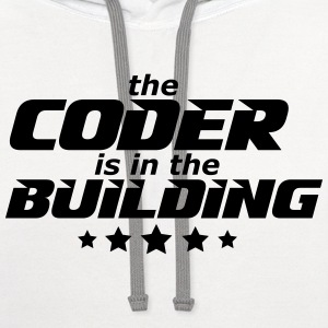 programmer T-Shirts - Contrast Hoodie