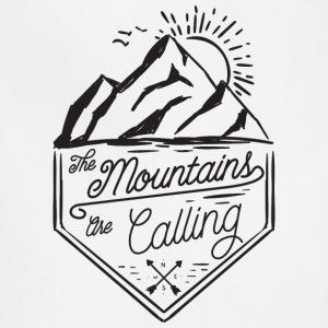 the mountains are calling - Adjustable Apron