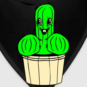 flowerpot penis willie cock fuck poppen sex funny  T-Shirts - Bandana