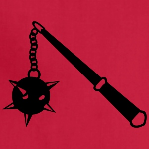 medieval weapon scourge ball spades 1 Women's T-Shirts - Adjustable Apron
