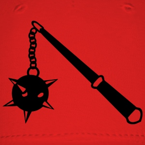 medieval weapon scourge ball spades 1 Women's T-Shirts - Baseball Cap