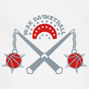 basketball weapon medieval scourge logo Tanks - Adjustable Apron