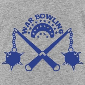 bowling scourge medieval weapon logo Kids' Shirts - Toddler Premium T-Shirt