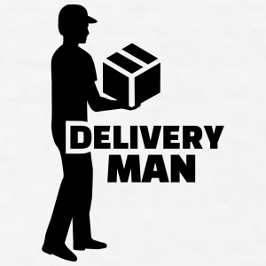Delivery man Mugs & Drinkware - Men's T-Shirt