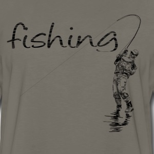 fisher T-Shirts - Men's Premium Long Sleeve T-Shirt