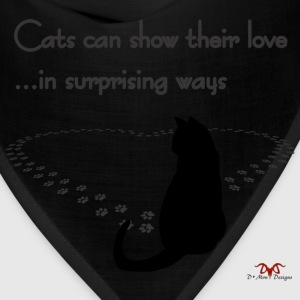 Cat Love--light prints - Bandana