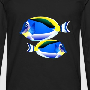 seaworld-tropical3 T-Shirts - Men's Premium Long Sleeve T-Shirt