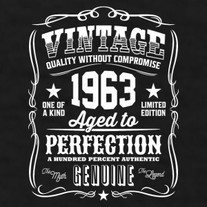 Vintage 1963 - 53th Birthday Gift Idea - Color Mug - Men's T-Shirt