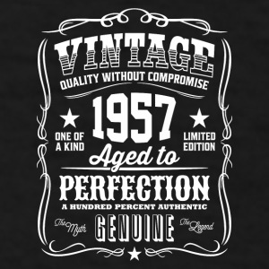 Vintage 1957 - 59th Birthday Gift Idea - Color Mug - Men's T-Shirt