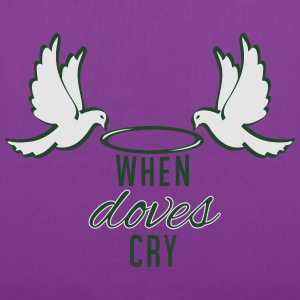 When Doves Cry - Tote Bag