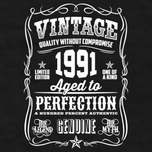Vintage 1991 - 25th Birthday Gift Idea - Color Mug - Men's T-Shirt