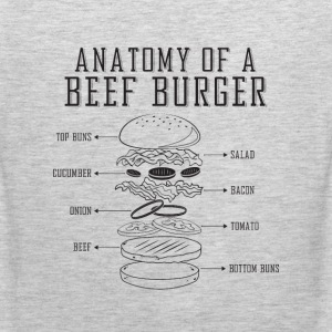 anatomy of a beef burger - Men's Premium Tank