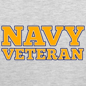 Navy Veteran Women's T-Shirts - Men's Premium Tank