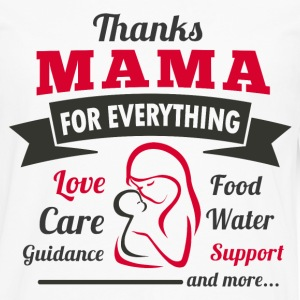 Thanks Mama - Men's Premium Long Sleeve T-Shirt