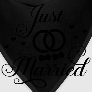 Just Married Gay Bi Pan Trans Queer LGBT Pride T-Shirts - Bandana