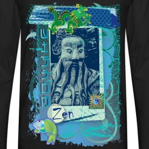 Wisdom Blue - Men's Premium Long Sleeve T-Shirt
