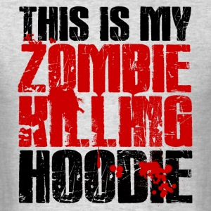 Zombie Killing Hoodie Hoodies - Men's T-Shirt