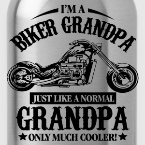 Biker Grandpa T-Shirts - Water Bottle