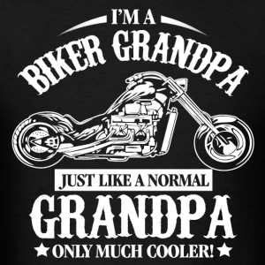 Biker Grandpa Hoodies - Men's T-Shirt