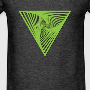 geometry-triangle Long Sleeve Shirts - Men's T-Shirt