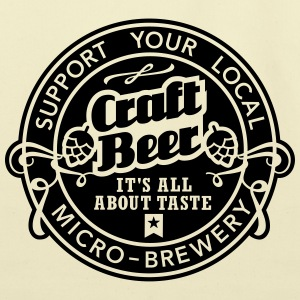 Craft Beer - Eco-Friendly Cotton Tote