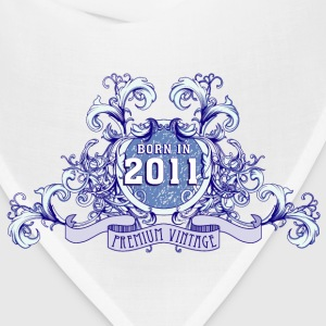 042016_born_in_the_year_2011b Baby Bodysuits - Bandana