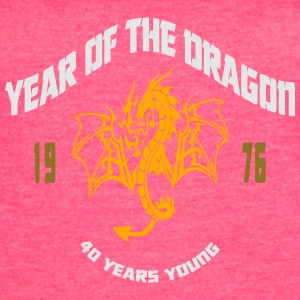 1976 Year Of The Dragon Tanks - Women's Vintage Sport T-Shirt