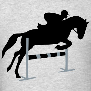 Riding, horse, equestrian Hoodies - Men's T-Shirt