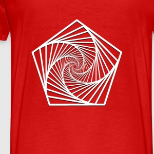 geometry-Polygon Hoodies - Men's Premium T-Shirt