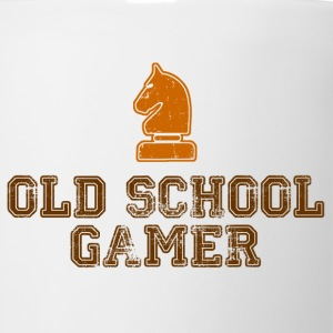 Old School Gamer T-Shirts - Coffee/Tea Mug