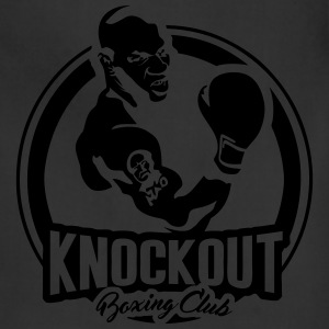 Knockout Boxing Club - Adjustable Apron