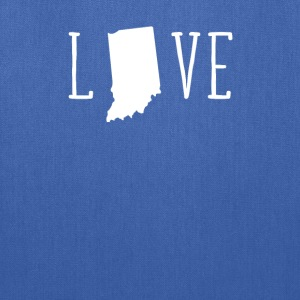 Indiana Love State T-shirt Women's T-Shirts - Tote Bag