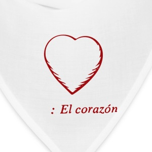 El Corazon, Tote Bag - Bandana