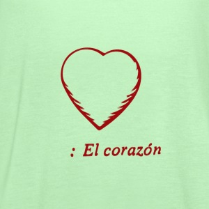 El Corazon, Tote Bag - Women's Flowy Tank Top by Bella