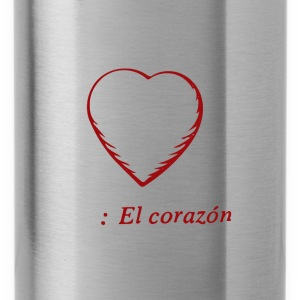El Corazon, Tote Bag - Water Bottle