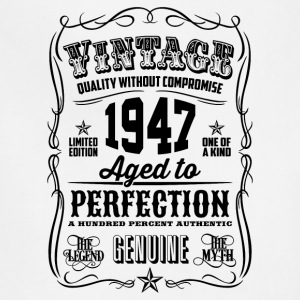 Vintage 1947 Aged to Perfection 69th Birthday gif - Adjustable Apron