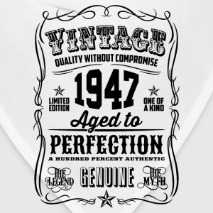 Vintage 1947 Aged to Perfection 69th Birthday gif - Bandana