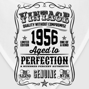 Vintage 1956 Aged to Perfection 60th Birthday - Bandana