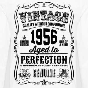 Vintage 1956 Aged to Perfection 60th Birthday - Men's Premium Long Sleeve T-Shirt