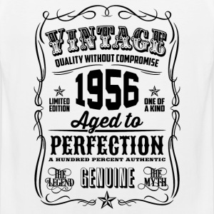 Vintage 1956 Aged to Perfection 60th Birthday - Men's Premium Tank