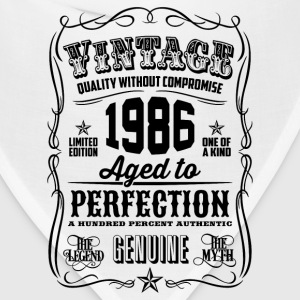Vintage 1986 Aged to Perfection 30th Birthday gift - Bandana