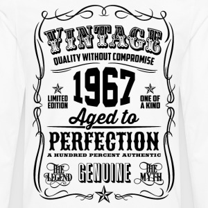 Vintage 1967 Aged to Perfection 49th Birthday gift - Men's Premium Long Sleeve T-Shirt