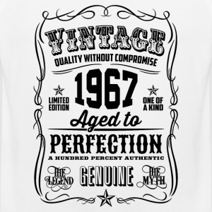Vintage 1967 Aged to Perfection 49th Birthday gift - Men's Premium Tank