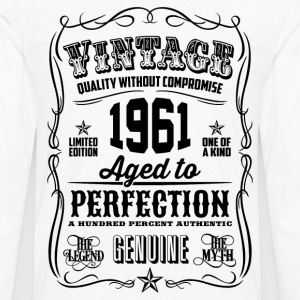 Vintage 1961 Aged to Perfection 55th Birthday gift - Men's Premium Long Sleeve T-Shirt